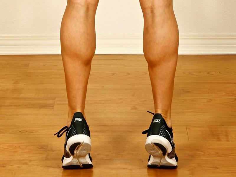 come allenare i polpacci esercizi utili