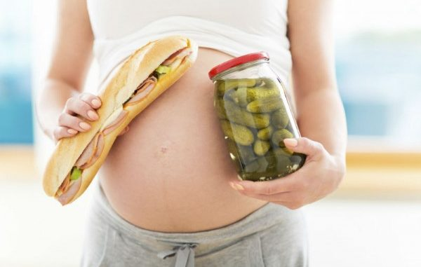 Voglie in gravidanza